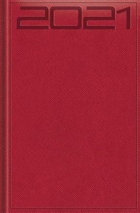 Terminarz 2021 Standard B6 Print Specjal czerwony