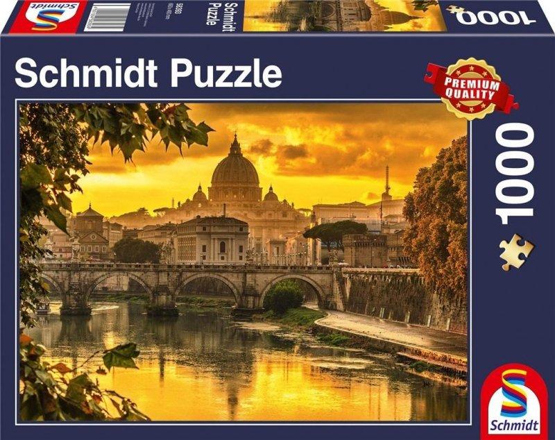 Puzzle PQ 1000 Zachód słońca w Rzymie G3
