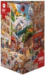 Puzzle 2000 Apokalipsa(Puzzle+plakat), Loup