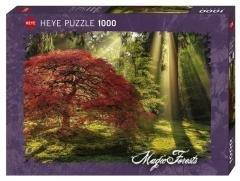 Puzzle 1000 Magiczny las o zachodzie słońca