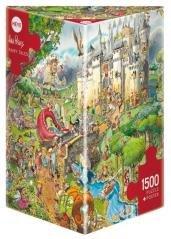 Puzzle 1500 Świat bajek dawno, dawno temu