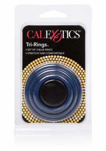 Pierścień-TRI-RINGS BLUE