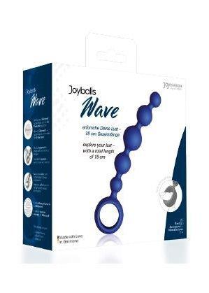 Plug/kulki-Joyballs anal Wave, short, blue