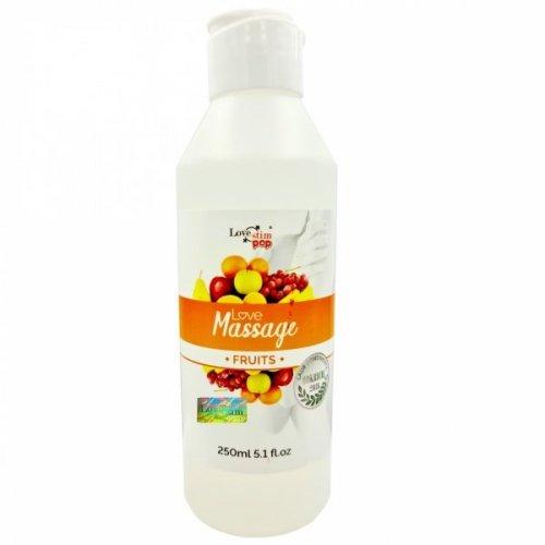 Żel do masażu i lubrykant w jednym OWOCOWY zapach 250ml