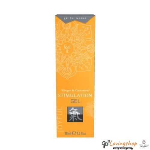 Żel/sprej-Stimulation Gel Ginger & Cinnamon 30ml.For Women