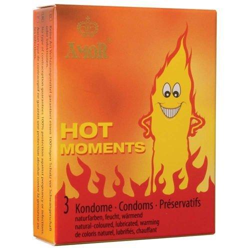 Prezerwatywy-Amor HOT moments 3pcs