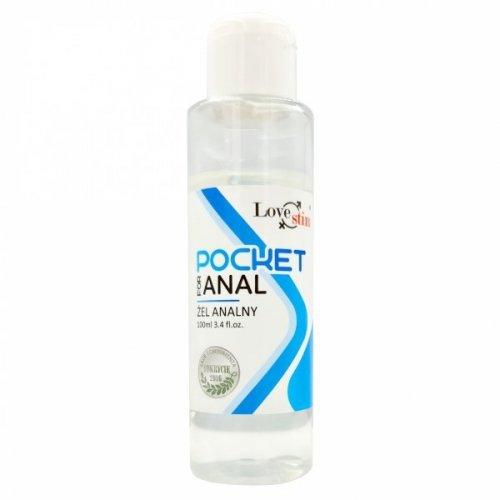 POCKET FOR ANAL 100ml kieszonkowy żel analny