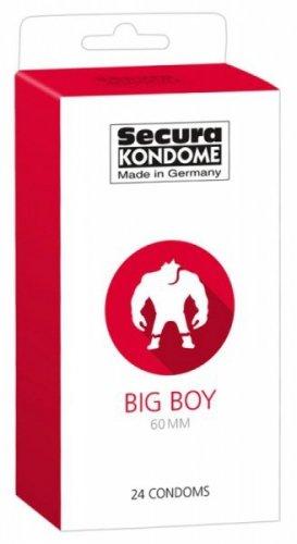 Prezerwatywy-Secura Big 60mm 24er