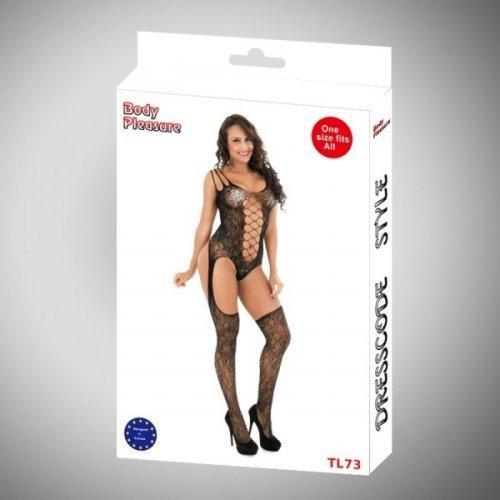 Body Pleasure - Sexy Lingerie Set - one size - black TL73