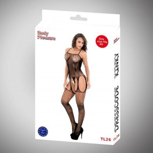 Body Pleasure - Sexy Lingerie Set - one size - black TL26