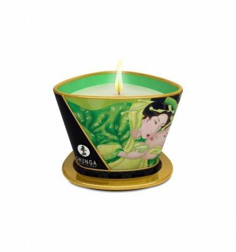 Shunga - Green Tea Massage Candle 170 ml