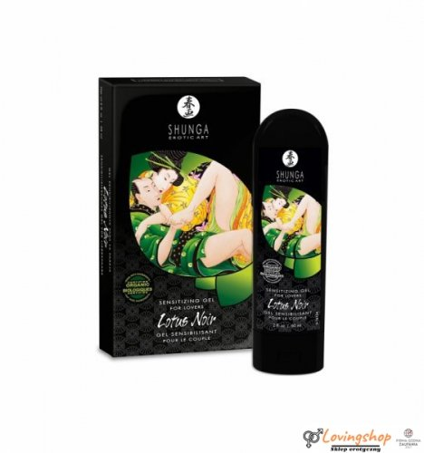 Shunga - Lotus Noir Cream for Lovers 60 ml