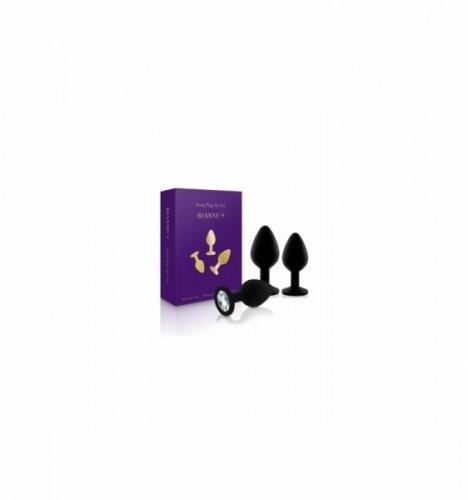 Rianne S - Booty Plug Set 3x Black