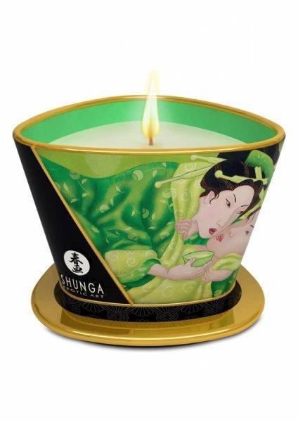 Świeca/krem-SHUNGA CANDLE GREEN TEA 170 ML