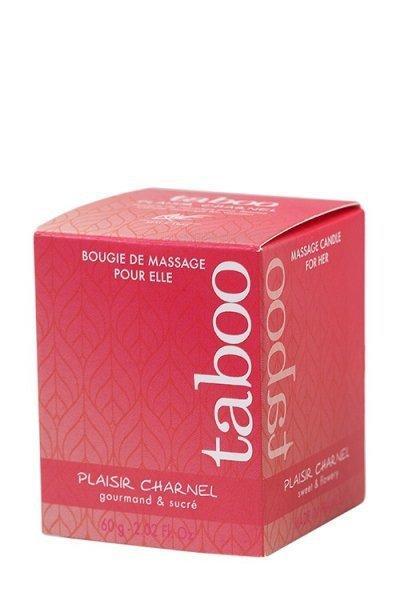 Świeca/krem-Plaisir Charnel Bougie Massage 60 gr