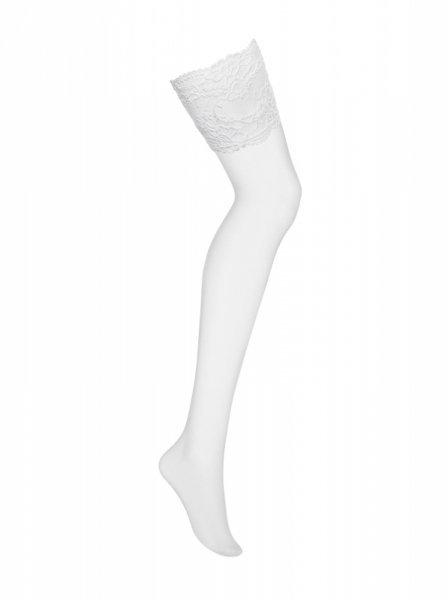 Bielizna-810-STO-2 pończochy białe  S/M