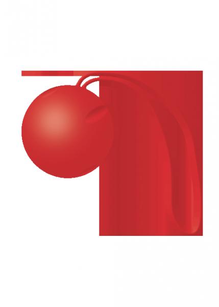 Kulki-Joyballs Trend single, red