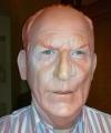 Maska twarz staruszka Holmsa