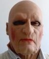 Latekowa twarz staruszka
