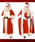 Profesjonalny strój Świętego Mikołaja - Św. Mikołaj Deluxe