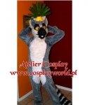 Chodząca maskotka - Madagaskar Lemur Król Julian Classic