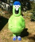 Strój reklamowy - Green Monster