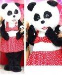 Strój chodzącej maskotki - Pani Panda