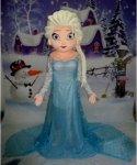 Chodząca maskotka - Frozen Elsa