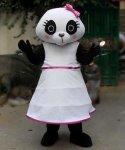 Strój chodzącej maskotki - Pani Panda 2