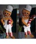 Chodząca maskotka - Świąteczny Pierniczek Lizaczek