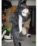 Strój chodzącej maskotki - Osioł z filmu Shrek