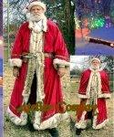 Profesjonalny strój Świętego Mikołaja - Św. Mikołaj Old Style Premium I