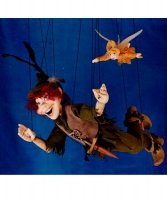Marionetka wenecka - Piotruś Pan (54 cm)
