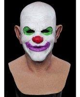 Maska silikonowa - Klaun Max