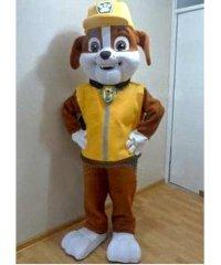 Chodząca żywa duża maskotka - Psi Patrol Rubble Deluxe
