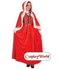 Profesjonalny strój świateczny - Mrs. Santa Deluxe