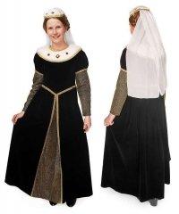Kostium teatralny dla dziecka - Królowa Tudorów