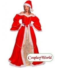 Świąteczna suknia - Mrs. Santa Deluxe