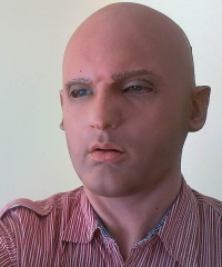Maska lateksowa - Artysta