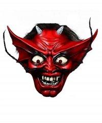 Maska lateksowa - Number Of The Beast Teufel