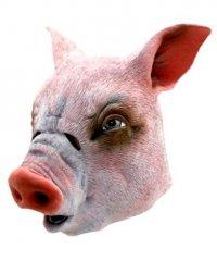 Maska lateksowa - Prosiak