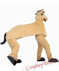 Chodząca żywa duża maskotka - Koń dla dwóch osób
