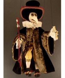 Marionetka wenecka - Doctor Plaga (73 cm)