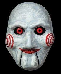 Maska lateksowa - SAW Puppet