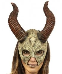 Maska lateksowa - Diablica