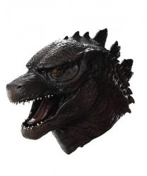 Maska lateksowa - Godzilla