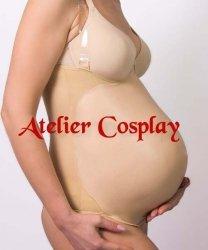 Sztuczny brzuch ciążowy - Silikon Pregnancy (7-8 miesiąc ciąży)