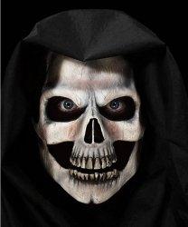 Maska klejona na twarzy - Śmierć Deluxe