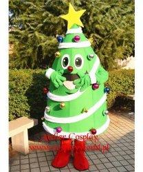 Strój chodzącej maskotki - Bożonarodzeniowa Choinka