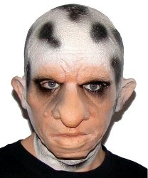 Maska lateksowa - Dalmatyńczyk Man